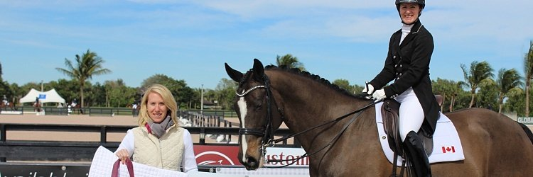 Custom Saddlery Is Back to Reward Riders at the   2017 Adequan Global Dressage Festival