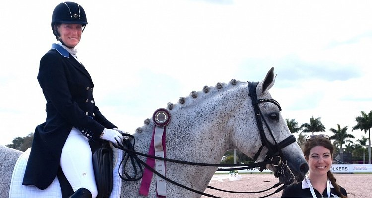 Custom Saddlery Honors Susanne Hamilton for  Proving All Kinds of Horses Can Be Successful
