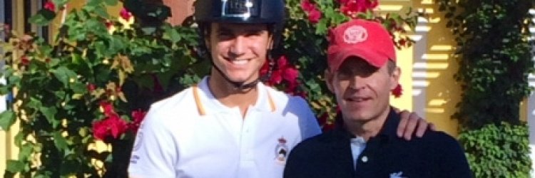 Juan Matute Jr. and Custom Saddlery Join Forces to  Ride Towards Continued Grand Prix Success