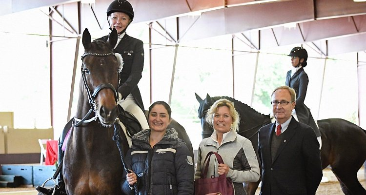 Custom Saddlery Names Wendy Christoff 'Most Valuable Rider' at Golden State Dressage Festival
