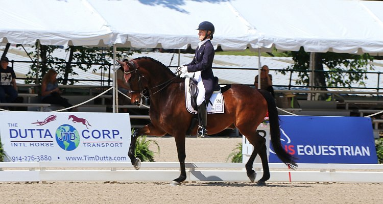 Olivia LaGoy-Weltz and Mette Rosencrantz Ride to the Top in Custom Saddles at 2017 U.S. Dressage Festival of Champions