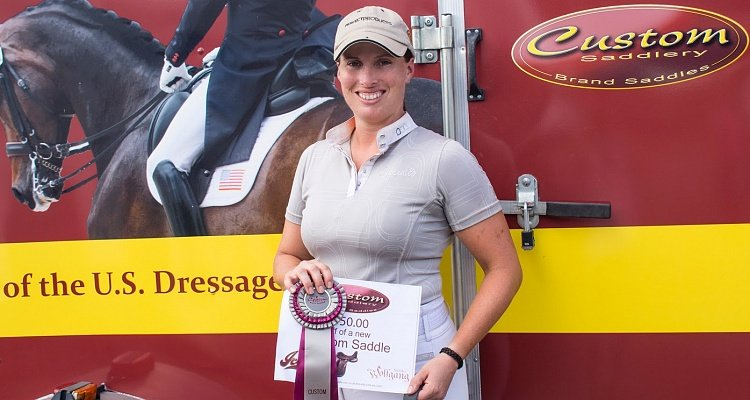 Custom Saddlery Names Lauren Chumley Most Valuable Rider for Week Eight of the Adequan Global Dressage Festival