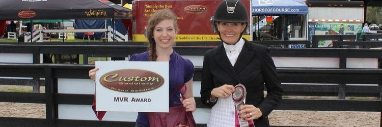 Olympian Ashley Holzer Begins U.S. Citizenship with Custom Saddlery MVR Award at Adequan Global Dressage Festival