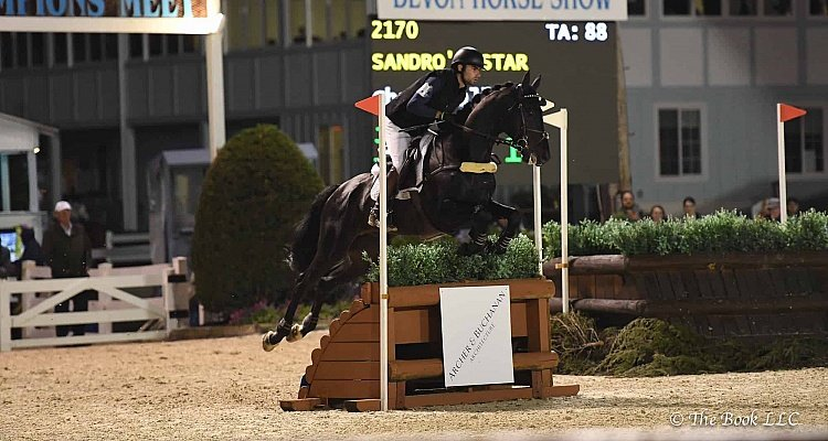 Chris Talley and Sandro's Star Capture $50,000 Devon Arena Eventing Competition