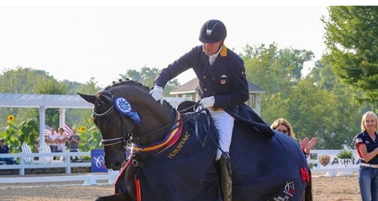 Endel Ots and Lucky Strike Bring Home The Win In The US Markel/USEF Developing Horse Prix St. George