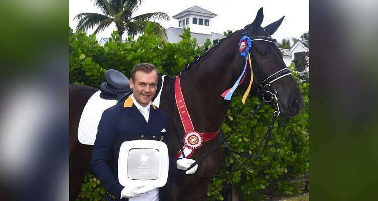 Endel Ots and Lucky Strike Dominate the 2018 Wellington Classic Dressage Global Holiday Challenge to Clinch the Semican Achievement Award