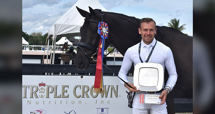 Triple Crown® Excellence Award Goes to Endel Ots During AGDF 8 Palm Beach Dressage Derby