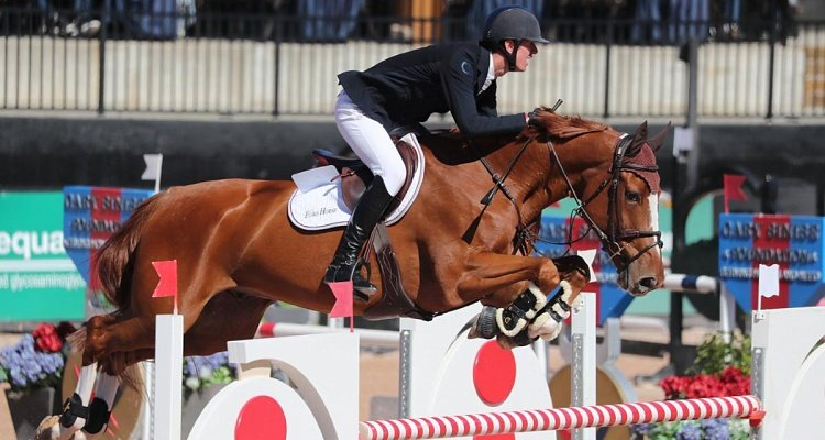Jos Verlooy und Igor siegen im $ 132.000 Horseware Ireland Welcome Stake CSI 5 * in North Carolina