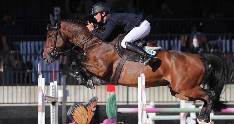 Bertram Allen and Lafayette Van Overis Scoop Up a Second Win in $72,000 Sunday Classic CSI 5* at TIEC
